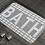 Thumbnail: Checkered Grey Bath Mat