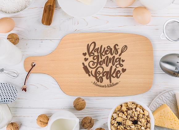 Bakers Gonna Bake Chopping Board