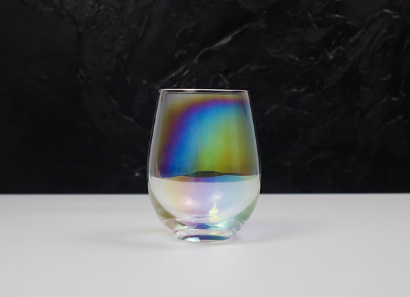 Rainbow Ball Glass Tumbler