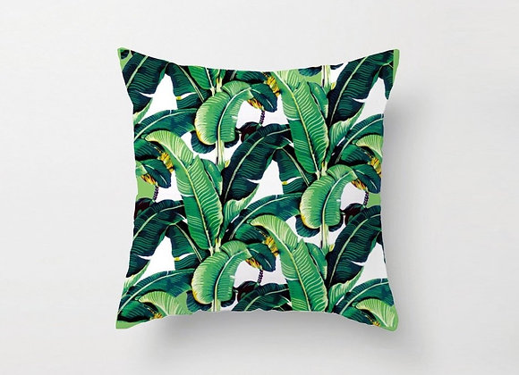 Banana Leaf Cushion Cover