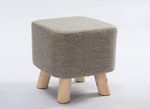Nordic Cushion Stool - Grey