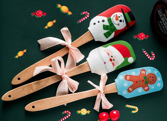 Christmas Silicone Spatula