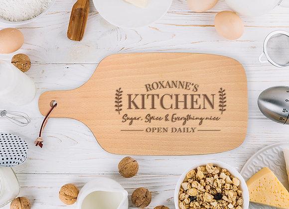 Open Daily Chopping Board