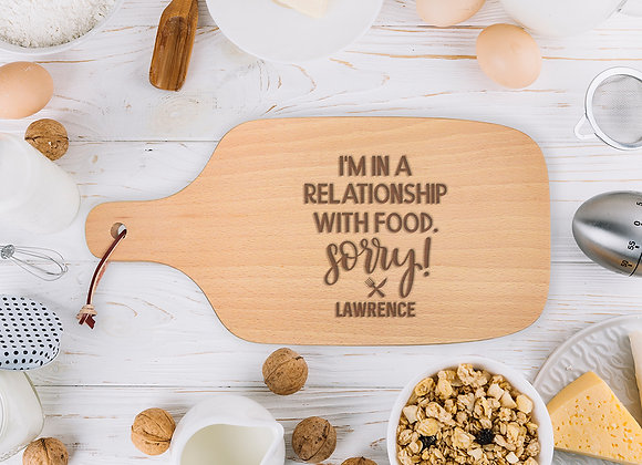 Relationship With Food Chopping Board