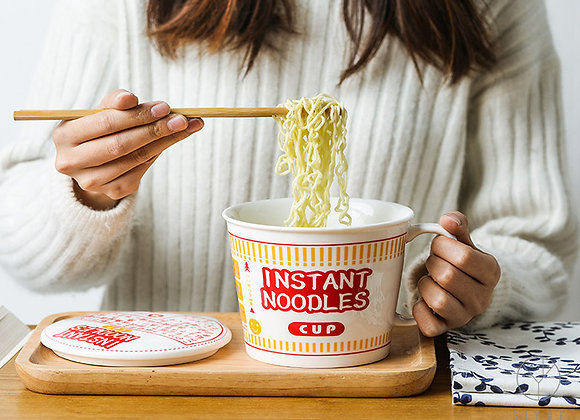 Instant Noodle Cup - Red