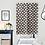 Thumbnail: Monochrome Pinwheel Door Curtain