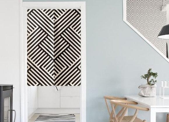 Weave Monochrome Door Curtain