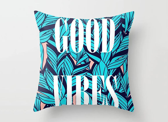 Tropical Good Vibes Cushion Cover