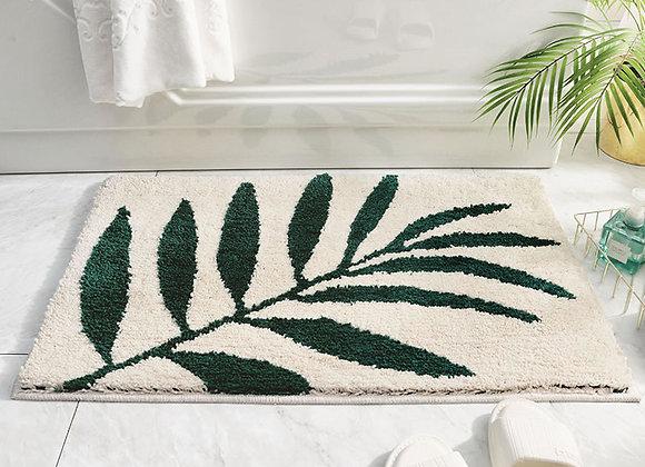 Nordic Leaf Bath Mat