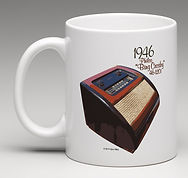 "Philco ""Bing Crosby"" 46-1201 ""The Icons"" Coffee Mug"