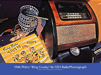 Philco Model 46-1201 Poster