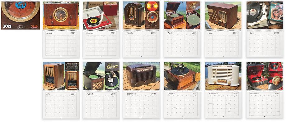 2021 Spin Alley Calendar