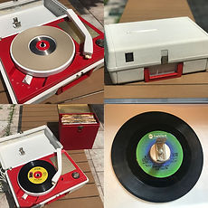 General Electric Model RP1753 Record Player