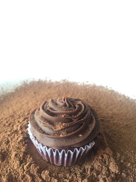 Cupcake chocolate meio amargo