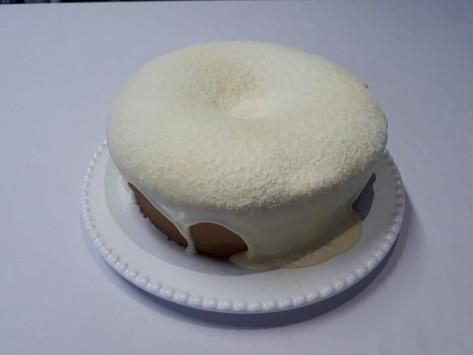 bolo vulcão de leite ninho com nutela