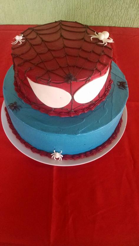 torta homem aranha