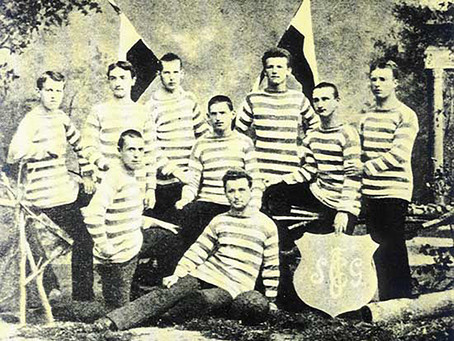 Foto von 1881 nachgestellt