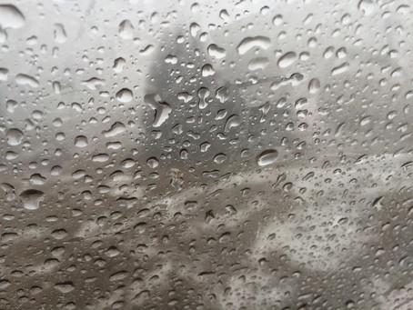 It's raining again... in Adelboden