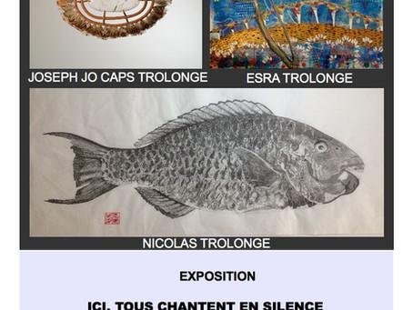 """Exposition """"Ici tous chantent en silence"""" à St Cyr / Loire"""