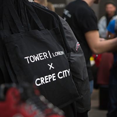Crepe City - Tower London x Sprayground