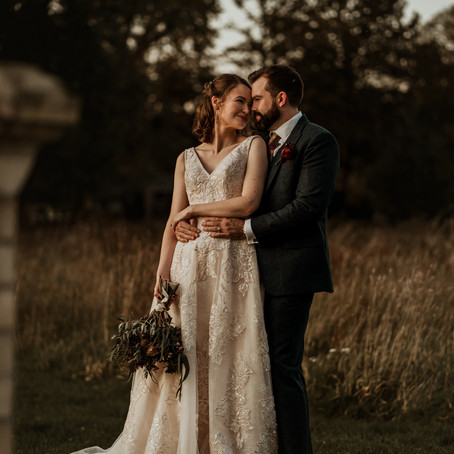 AUTUMNAL WEDDING AT ST. GILES HOUSE IN DORSET