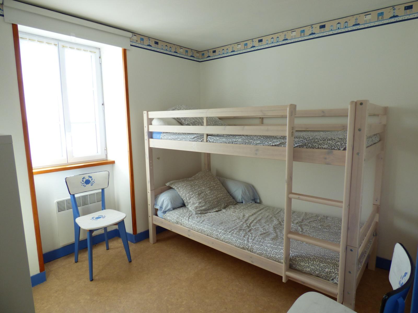 Lits superposés chambre 2