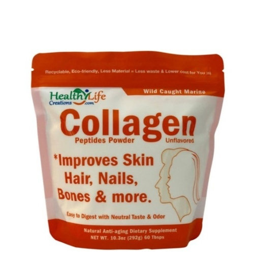 Marine Collagen Powder  (10.3oz) QUICKLY Dissolving Buy 1, 3 or 6 Packs Here