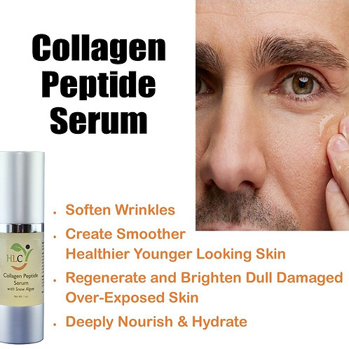 Collagen Peptides Serum - nourish & regenerate  (1 oz)