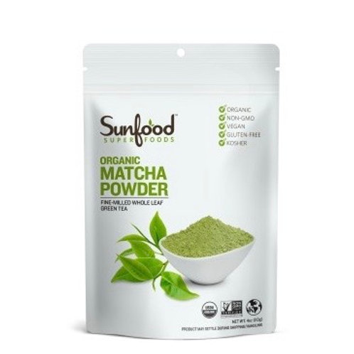 Matcha Green Tea Powder, Organic 4oz