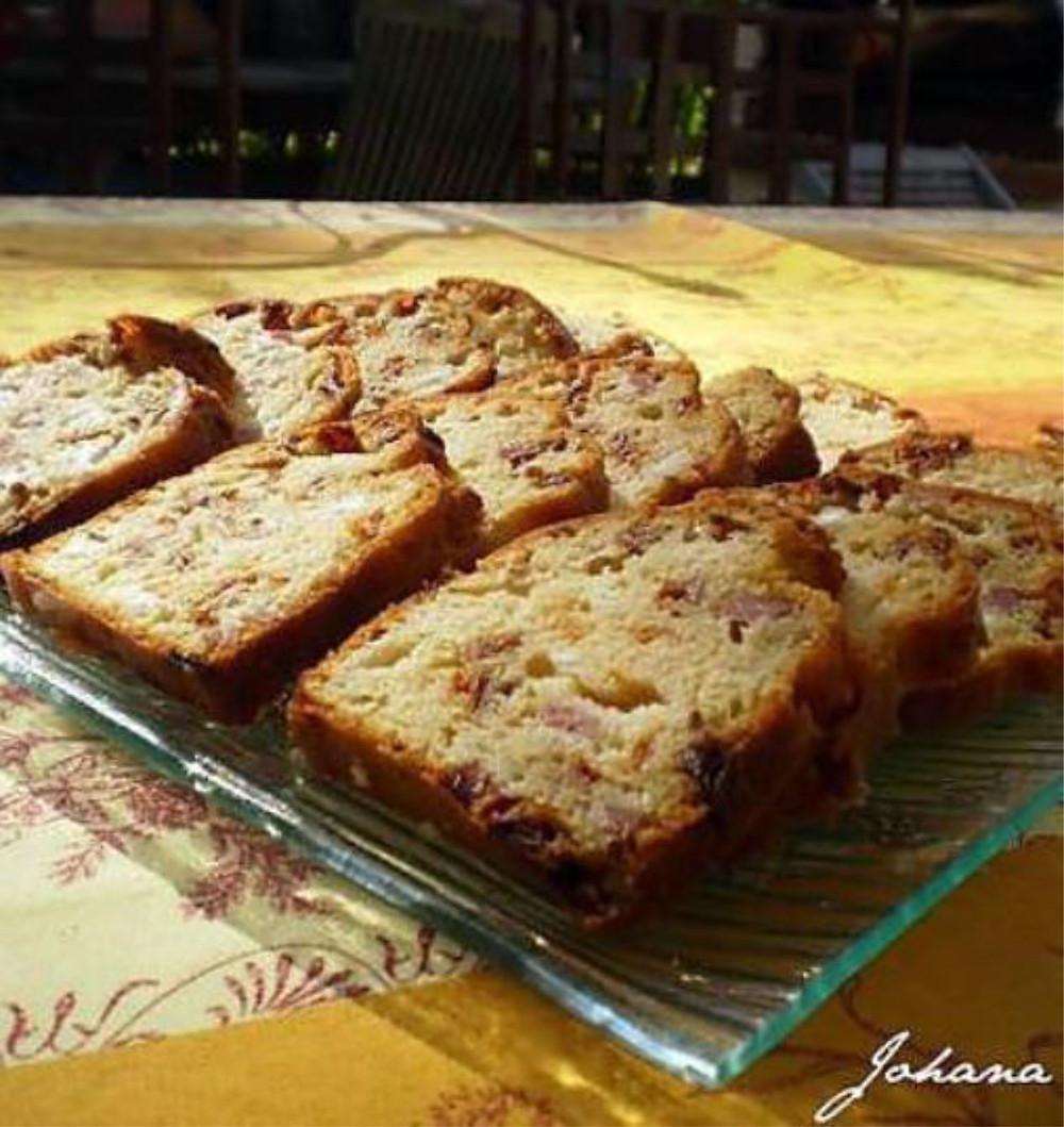 Cake lardons recette personnes âgées