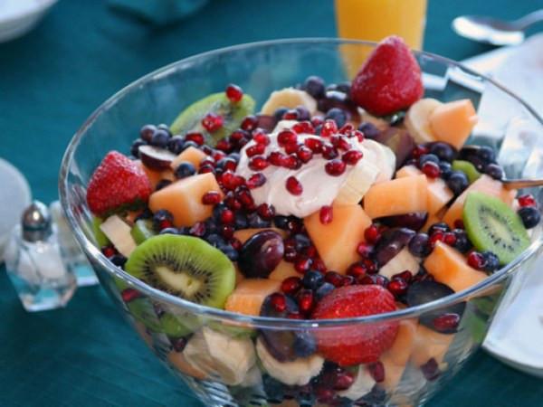 Salade de fruits recette personnes âgées