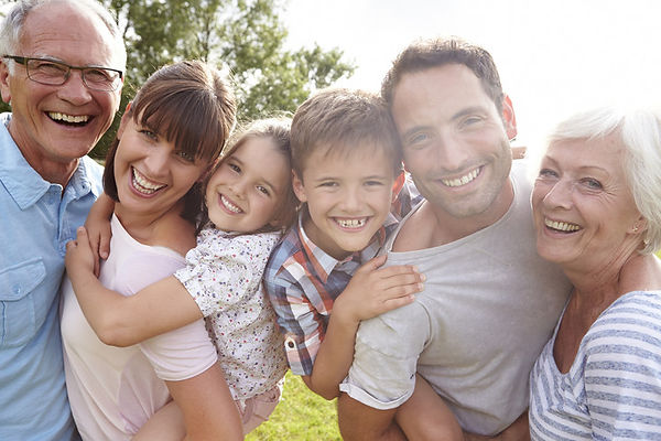 Multi-Generation-Family-Giving-Children-