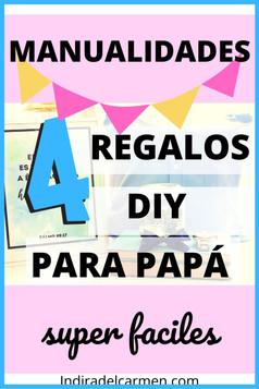 Manualidades Super faciles y Únicas Para el Día del Padre