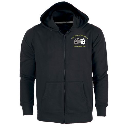 Booster Club zipper hoodie