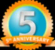 5th anniversary 2019 clip art panda.png
