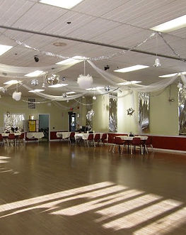 Betsy's Ballroom ready for a dance party