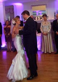 First Dance, wedding couple