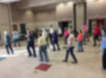 line dance open house