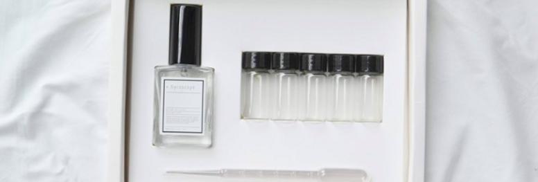 DIY香水實驗盒子