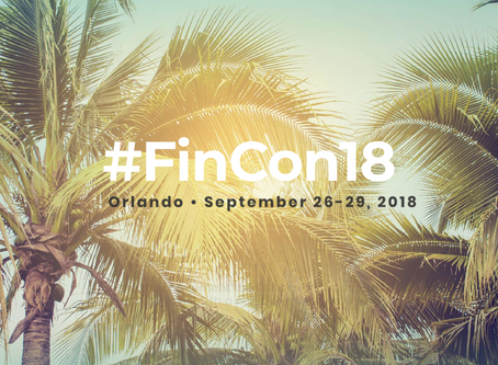 Greetings from FinCon!