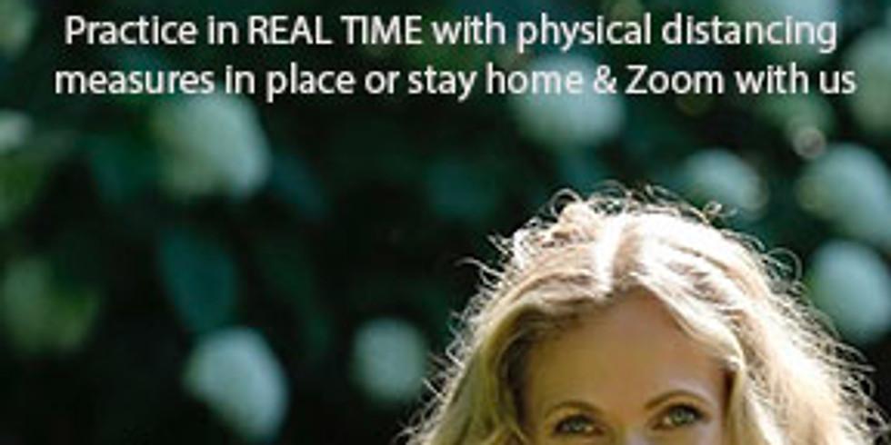 Saturday, July 18 - Outdoor Yoga with Elizabeth