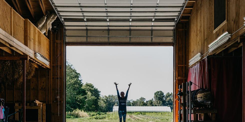 Saturday Skybird YOGA @ Granor Farm in Three Oaks | Michigan 9:30-10:45am (edt)