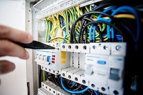 circuito reparação painel de disjuntor