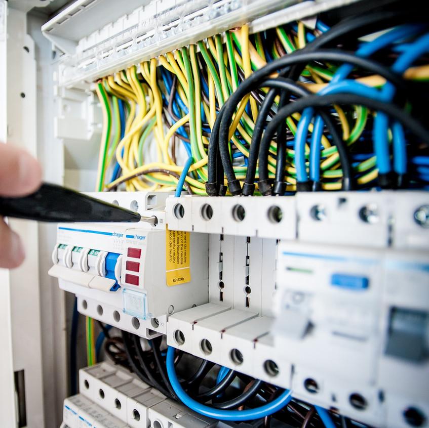 circuito de reparación de panel de inter