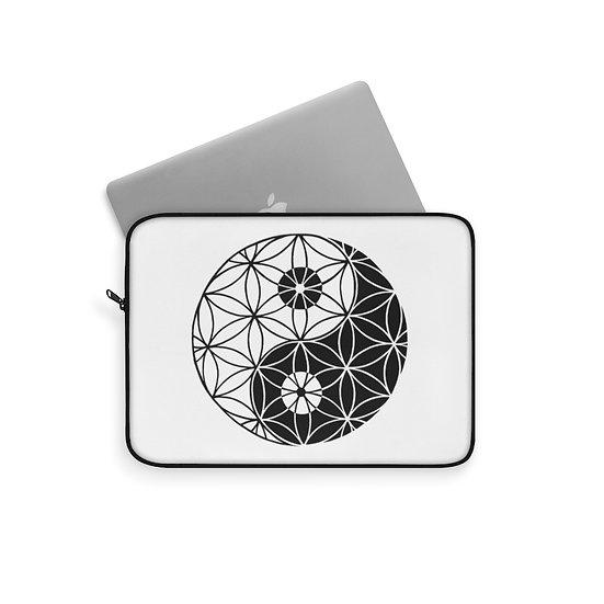 Yin & Yang - Flower of Life - Laptop Sleeve