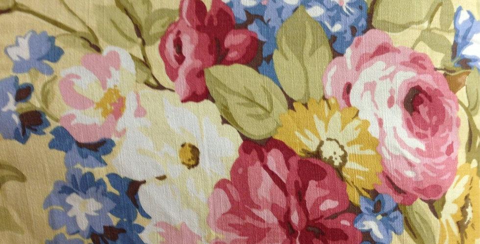 Cheerful Flower Garden Fabric