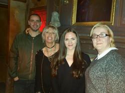 Simon, Patti, Jayne and Katrin