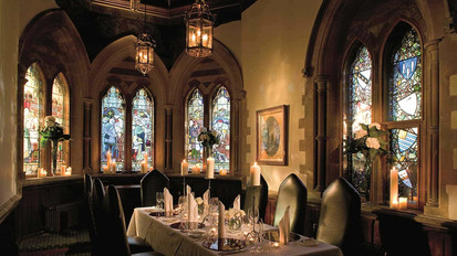Dining in the Chapel