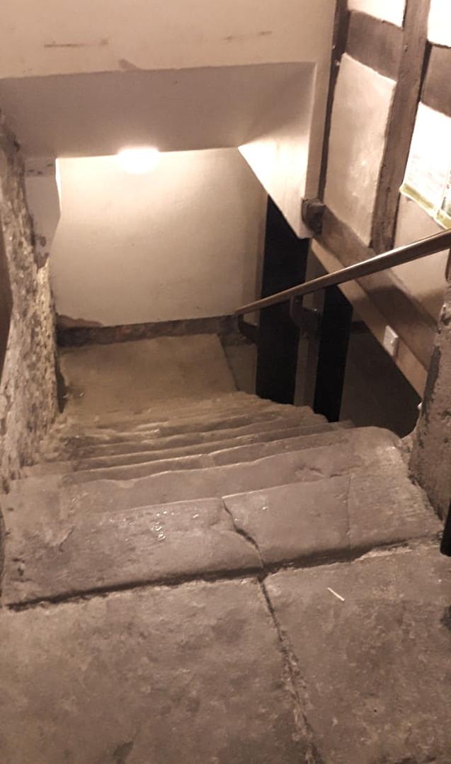 Dare you enter the cellar?