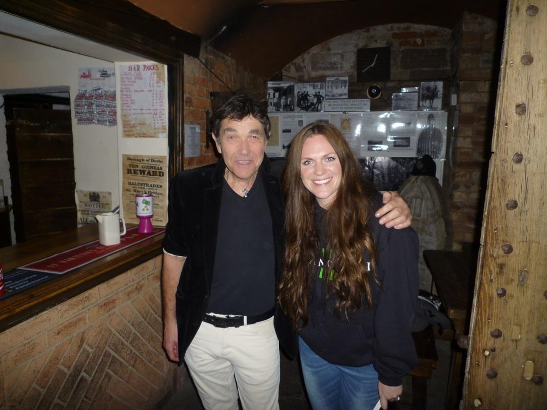 Jayne with Richard Felix